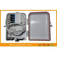Wholesale Dual Layer Fiber Optic Splitter Box For PLC Splitter 1x16 LGX Modular / Cable Distribution Box from china suppliers