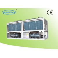 Wholesale Evaporator Air Cooled Screw Chiller , Anti-corrosion Air Cooled Liquid Chillers from china suppliers