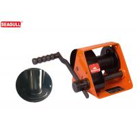 Wholesale HWG Type 500kg Hand Lifting Winch With Two Way Ratchet , Worm Gear Hand Winch from china suppliers