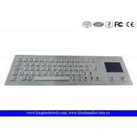 Wholesale Industrial Keyboard With Touchpad And 64 Keys IP65 Rated For Kiosk from china suppliers