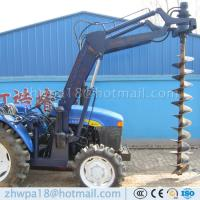 Wholesale Best price 4 wheel tractor mounted hole digger Tractor with Auger from china suppliers