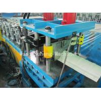 Wholesale Roof Ridge Cap Roll Forming Machine 0.3 - 0.6mm Corrugated Sheet Roll Forming Machine from china suppliers