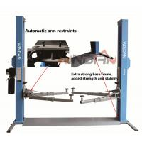 Buy cheap One Side Manual Two Post Hydraulic Car Lift Mechanical Release from wholesalers