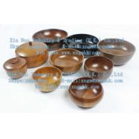 Wholesale Large wooden bowls, wooden bowl, wooden rice bowl, wooden bowl, wooden bowls of children from china suppliers