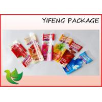Wholesale Flat Bottom Custom Packaging Bags Popsicle Frozen Food Bag 3 Layer from china suppliers