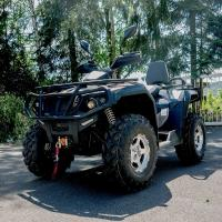Quality Single Cylinder Four Wheel ATV 400cc 4 Wheeler Quads With 4*4 F/R Independent Suspension for sale