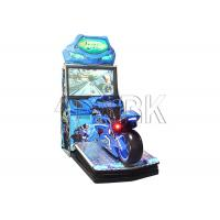 Wholesale Crazy electronic coin operated motorcycle car racing game machine for sale from china suppliers