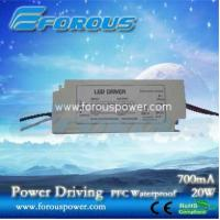 Wholesale PFC 700mA20W Constant Current Led Power Supply Ce Ul ,UL power supply,UL led down light dr from china suppliers