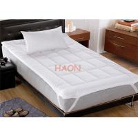 Wholesale White Hotel Mattress Protector European Standard 100% cotton 11090 thread from china suppliers