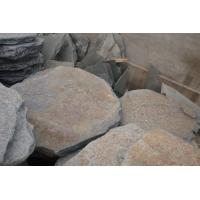 Wholesale Multicolor Slate Tumbled Stepping Stone Round Garden Paving Stone Landscaping Stone Pavers from china suppliers