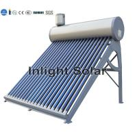 Wholesale 200L Open Loop Non Pressurized Solar Water Heater With Anticorrosive PVDF Coating from china suppliers