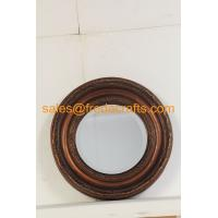 Wholesale FR-16720 Antique Style Wall Decorative Round Resin Framed Mirror from china suppliers