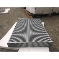 Wholesale Aluminum tube fin air to air Heat Exchanger Core for heavy duty charge air coolers from china suppliers