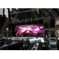 Wholesale SMD Rental Led Display P4.81 / Led Video Wall Indoor And Outdoor For Concert , Eco Friendly from china suppliers
