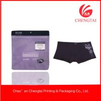 Wholesale Nontoxic Custom Design Plastic Zippered Garment Bags With Hang Hole from china suppliers