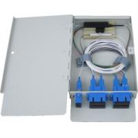 Wholesale Wall Mounted Type Fiber Optic Terminal Box Module Suitable for Small Capacity Optical Splitting from china suppliers