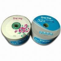 China Durable Blank CD-Rs with 700MB/80 Minutes Capacity on sale