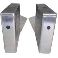 Wholesale ID Card High Capability Dual Way Stainless Retractable Flap Barrier for Bus Station RS485 from china suppliers