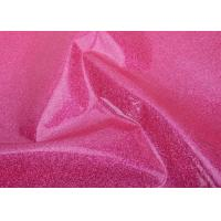 Wholesale Cosmetic Bag Material Glitter Pvc Fabric / Glitter Pvc Film For Making Bags from china suppliers