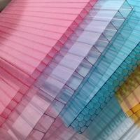 Wholesale UV-coated Soundproof Greenhouse Polycarbonate Hollow Sheet Environmental Friendly from china suppliers
