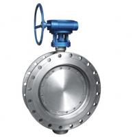 Wholesale Class 150 Stainless Steel Eccentric Butterfly Valve , Flanged Triple Offset Butterfly Valve from china suppliers