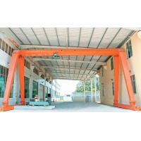 Over The Lifting Metallurgical Single Girder Crane For Workshop Warehouse Yard