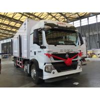 China T5G 340HP Refrigerated FRP Sandwich Panels Box Truck for transport , Commercial Refrigerated Vans on sale