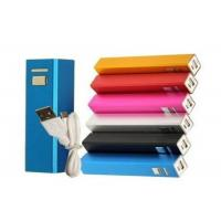 Wholesale Lipstick Shape External Battery Power Bank With Samsung 2600mAh Cell , DC 5V 1A from china suppliers