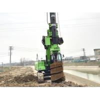 Wholesale KR50 Hydraulic Piling Rig Machine Hire , 70kN,Max. crowd pressure 65 KN Main Winch Line Pull Pile Driver Equipment from china suppliers