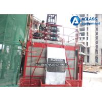 Wholesale 1.5t Building Construction Elevator Outside Projects 50m-250m Height from china suppliers