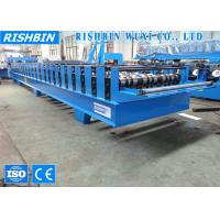 Wholesale Roof Profiling Comflor Metal Deck Roll Forming Machine with Chain Driving from china suppliers
