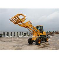 Wholesale 1.6T 0.8m3 Wheel Loader With Strengthen Axle Quick Hitch Pallet Fork Grass Grapple from china suppliers