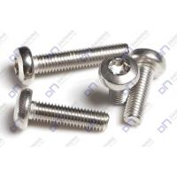 Buy cheap Hexalobular socket pan head machine screws from wholesalers