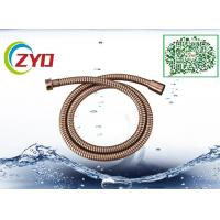 Wholesale Bronze Plated Dark Copper Color 1.5m Bathtub Shower Hose Double Lock With Brass Screw from china suppliers