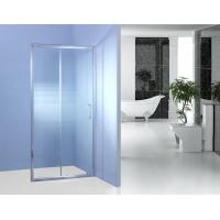 Wholesale Fixed Glass Sliding Shower Door 700MM 90 Degree Magnetic Type Shower Surround Panels from china suppliers