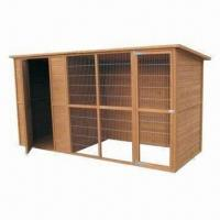 Wholesale Dog Kennel/Cage, Made of Chinese Fir Wood, Different Sizes are Available from china suppliers