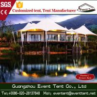Wholesale Outdoor Family Luxury Camping Tent 10x10 , Hot Dip Galvanized Steel Frame Tent from china suppliers