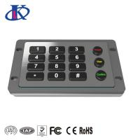 Wholesale Excellent Tactile Feel Backlit Metal Keypad , Weatherproof Keypad Customizable Key Layout from china suppliers
