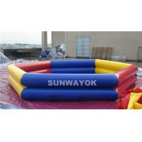 Wholesale Durable PVC Inflatable Swimming Pools With  0.9mm Or 0.6mm Material from china suppliers