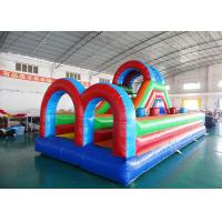Wholesale Outdoor Inflatable Sports Games, Inflatable Obstacle Course Games from china suppliers