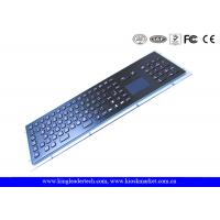 Wholesale Dust-proof IP65 Industrial Keyboard With Touchpad Stainless Steel With 103 Keys from china suppliers