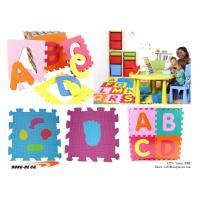 "Wholesale Alphabet Puzzle Mat with Alphabet , Number 12""X12"" from china suppliers"