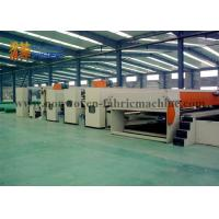 Wholesale Non Woven Fabric Needle Punching Production Line For Synthetic / Artificial Leather from china suppliers