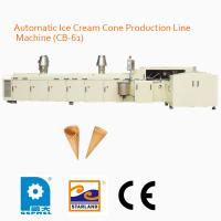 Wholesale Less Gas Consumption Fully Automatic Wafer Production Line 6000 Standard Cones / hour from china suppliers