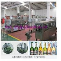 Wholesale automatic beer glass bottle filling machine from china suppliers
