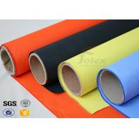 Wholesale Fireblanket Fiberglass Silicone Coated Fiberglass Fabric Fireproof Cloth from china suppliers