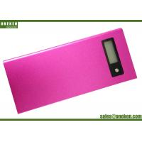Wholesale Dual Output LCD Display Power Bank 8000mAh Silk - Screen Logo With Metal Shell from china suppliers