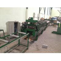 Wholesale 0.4mm - 0.6mm Ridge Cap Roll Forming Machine , Roof Tile Making Machine from china suppliers