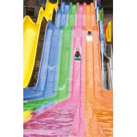 Wholesale wonderful rainbow slide fiberglass water slide for amusement park from china suppliers