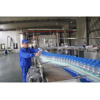 Wholesale Custom Small Scale Water Bottling Plant , Fully Automatic Linear Filling Machine from china suppliers